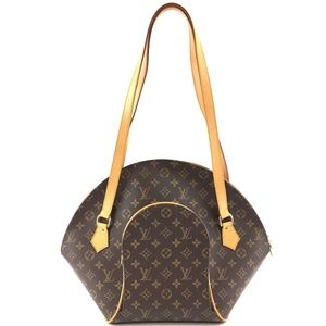 Ellipse Monogram Canvas Shoulder Bag